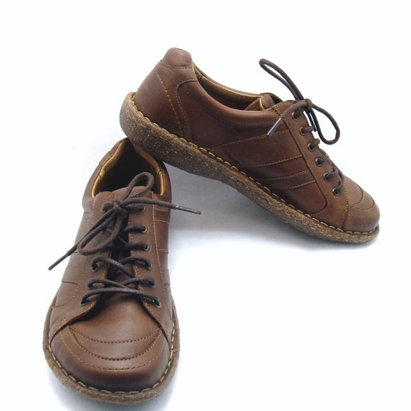 5be85e1df458 Born Shoes - Nice Born lace up leather shoes brown 40.5 9